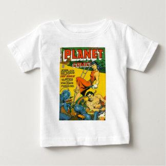 Camiseta Para Bebê Deusa da lua de Mystia