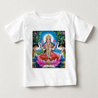 Camiseta Para Bebê Deusa de Lakshmi de amor, de prosperidade, e de