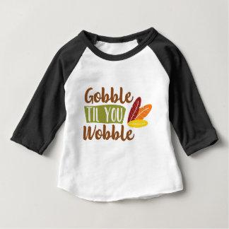Camiseta Para Bebê Devore até que você balanç