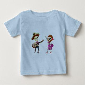Camiseta Para Bebê Dia da dança do Mariachi do casal inoperante
