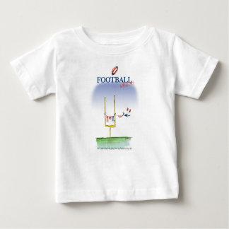 Camiseta Para Bebê Dia da lavagem do futebol, fernandes tony