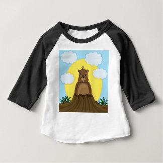 Camiseta Para Bebê Dia de Groundhog