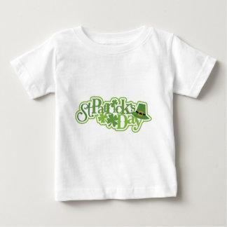 Camiseta Para Bebê Dia de São Patrício, design irlandês de Patrick de
