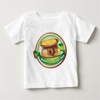 Camiseta Para Bebê Dia de São Patrício feliz, feriado irlandês do