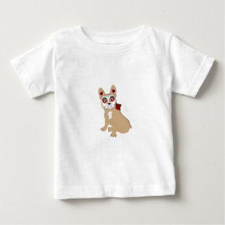 Camiseta Para Bebê Dia do Frenchie de creme inoperante