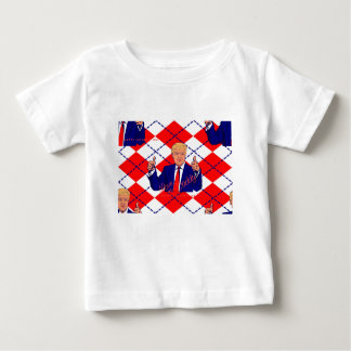 Camiseta Para Bebê dia dos pais Donald Trump