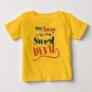 Camiseta Para Bebê Diabo doce