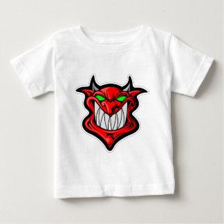 Camiseta Para Bebê Diabo dos desenhos animados