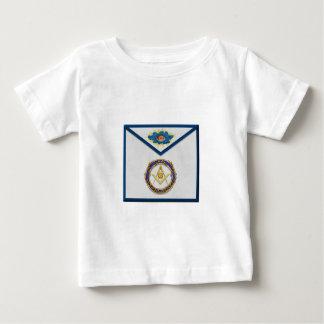 Camiseta Para Bebê diácono superior seniordeaconMasonic Apronapron