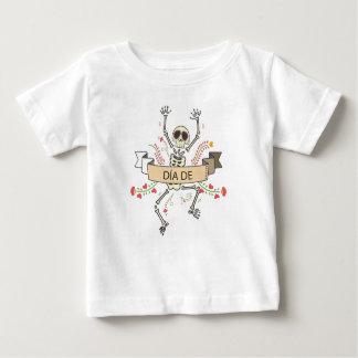 Camiseta Para Bebê Diâmetro DE Festival do morto