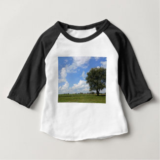 Camiseta Para Bebê Dias do celeiro