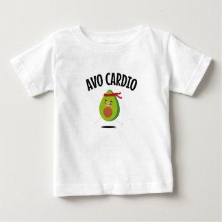 Camiseta Para Bebê Dieta engraçada do Vegan do exercício do abacate