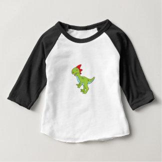 Camiseta Para Bebê dinossauro do rex do lagarto