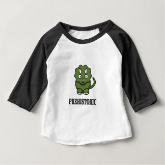 Camiseta Para Bebê dinossauro pre histórico yeah