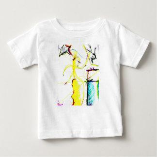 Camiseta Para Bebê Disco W \ louco