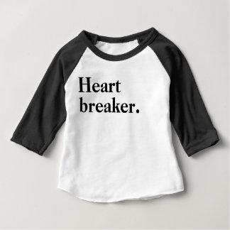 Camiseta Para Bebê Disjuntor do coração