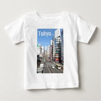 Camiseta Para Bebê Distrito de Shinjuku em Tokyo, Japão