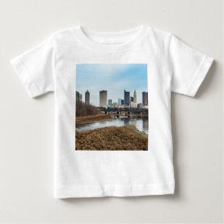 Camiseta Para Bebê Distrito financeiro central Columbo, Ohio