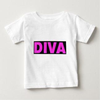 Camiseta Para Bebê Diva