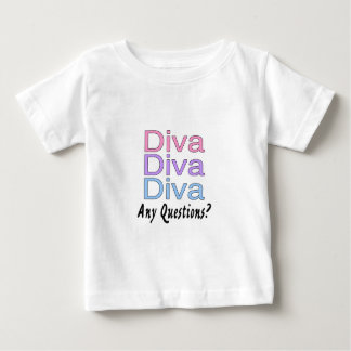 Camiseta Para Bebê Diva algumas perguntas