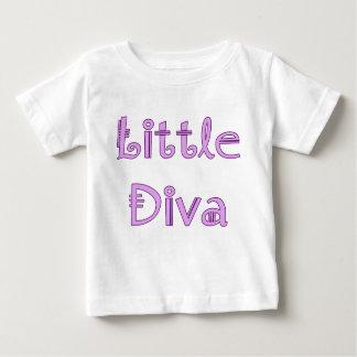 Camiseta Para Bebê Diva pequena