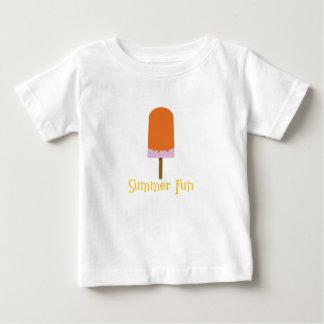 Camiseta Para Bebê Divertimento do verão