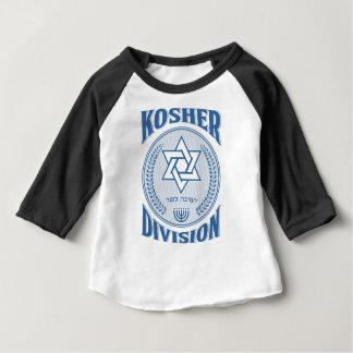 Camiseta Para Bebê Divisão Kosher