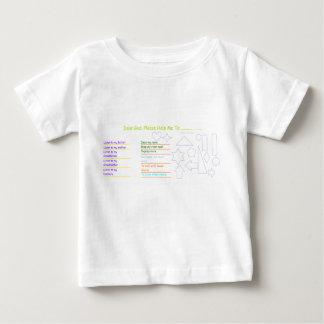 """Camiseta Para Bebê Do """"t-shirt da atividade do bebê caro deus"""""""