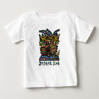 """Camiseta Para Bebê Do """"t-shirt do bebê do Kat bobo da corte"""""""