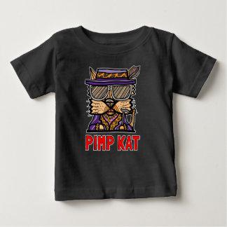"""Camiseta Para Bebê Do """"t-shirt do bebê do Kat"""" BuddaKats proxeneta"""
