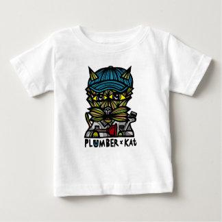 """Camiseta Para Bebê Do """"t-shirt do bebê do Kat canalizador"""""""