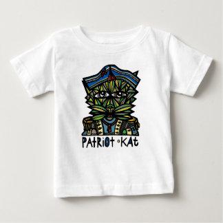 """Camiseta Para Bebê Do """"t-shirt do bebê do Kat patriota"""""""