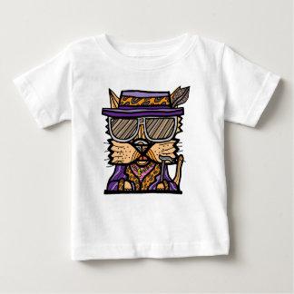 """Camiseta Para Bebê Do """"t-shirt fino do jérsei do bebê do Kat"""