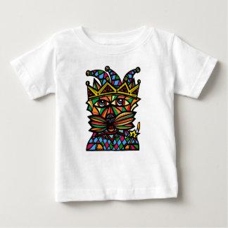 """Camiseta Para Bebê Do """"t-shirt fino do jérsei do bebê do Kat bobo da"""