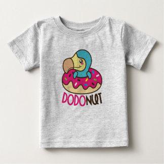Camiseta Para Bebê Dodonut (pássaro da filhós e do dodo)
