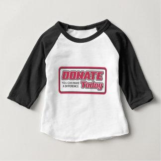 Camiseta Para Bebê doe
