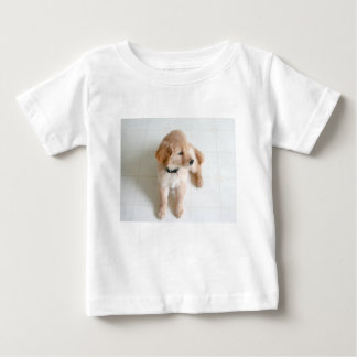 Camiseta Para Bebê Doggy bonito