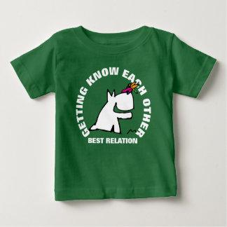 Camiseta Para Bebê Doggy com libélula