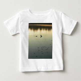 Camiseta Para Bebê Dois mergulhões-do-norte
