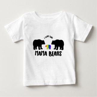 Camiseta Para Bebê Dois TShirt do Mama Carregamento Miúdos