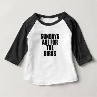 Camiseta Para Bebê domingos