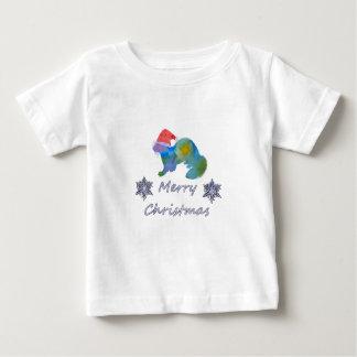 Camiseta Para Bebê Doninha do Natal
