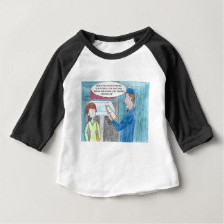 Camiseta Para Bebê Dor na carteira