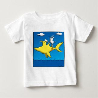 Camiseta Para Bebê Dores do pelicano