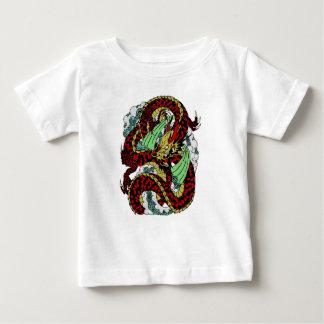 Camiseta Para Bebê Dragão