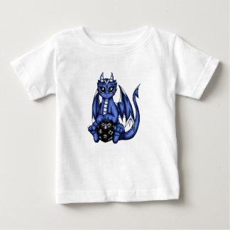 Camiseta Para Bebê Dragão do jogo