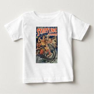 Camiseta Para Bebê Dragão do mar irritado