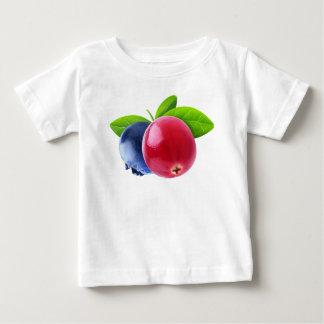 Camiseta Para Bebê Duas bagas
