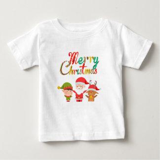 Camiseta Para Bebê Duende do Feliz Natal