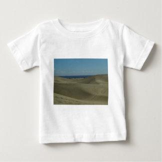 Camiseta Para Bebê Dunas de areia de Gran Canaria